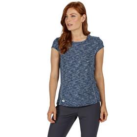 Regatta Hyperdimension Camiseta Mujer, dark denim